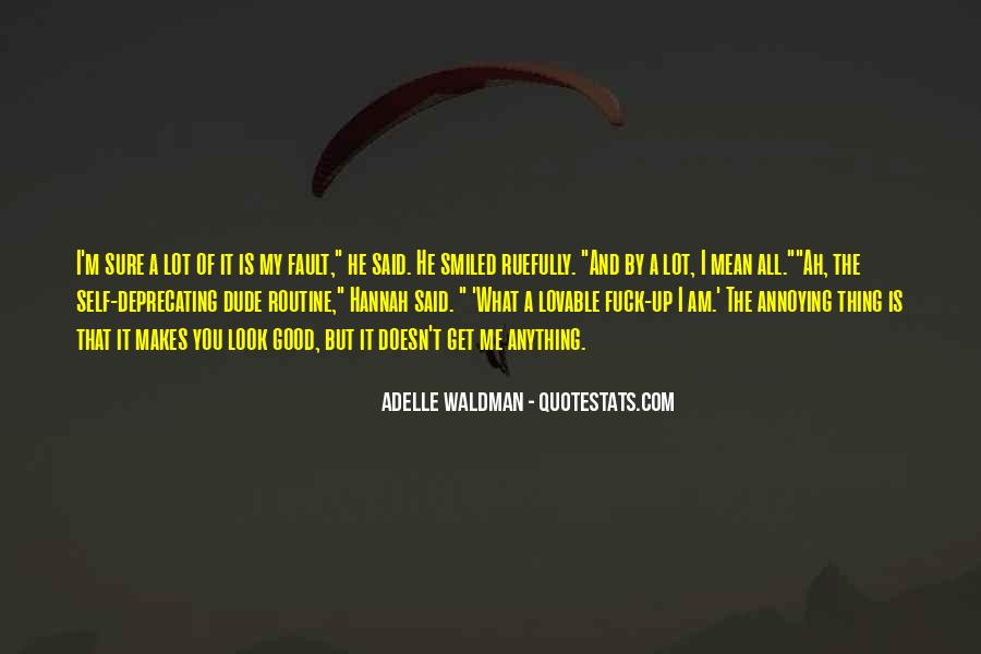 Quotes About Good Routine #1829153