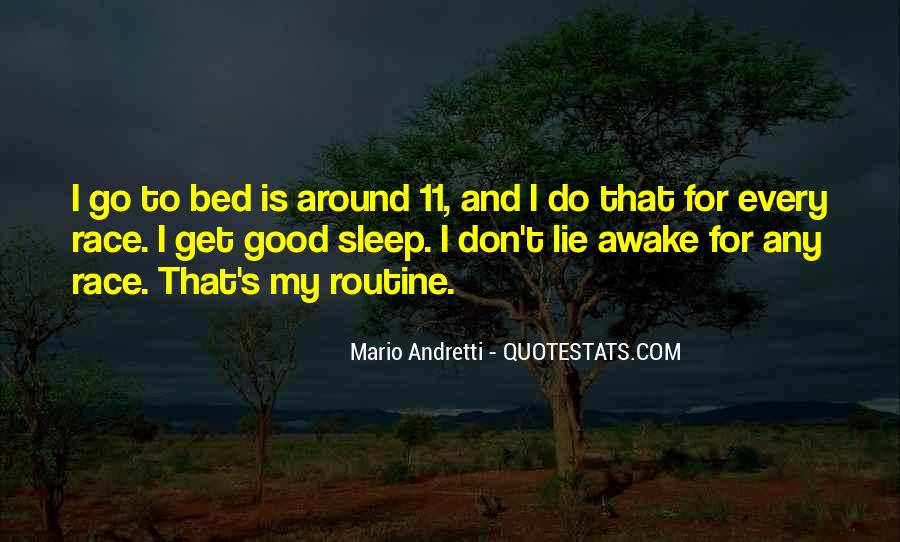 Quotes About Good Routine #670999