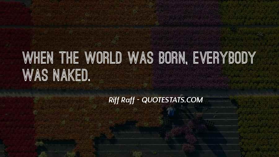Quotes About Riff #1618328