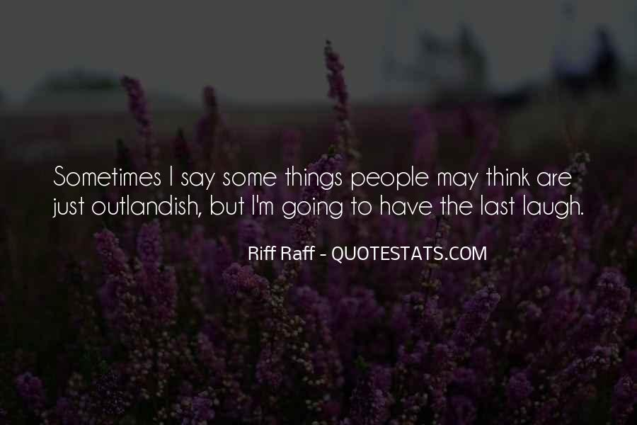 Quotes About Riff #1647856
