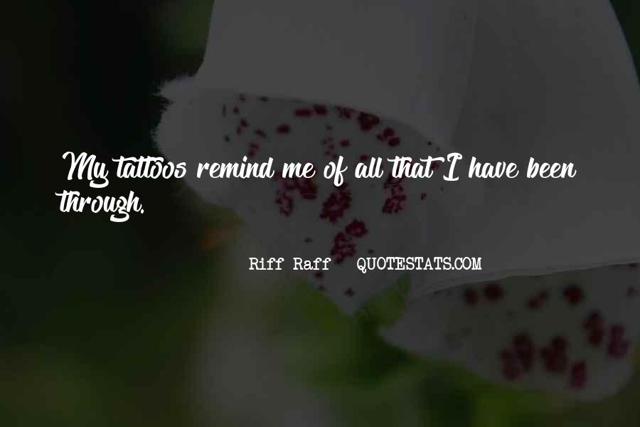 Quotes About Riff #417976