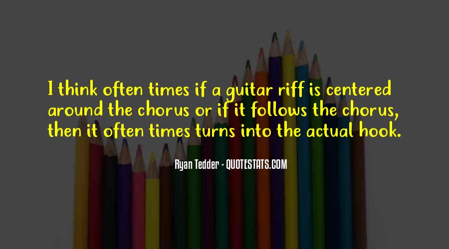Quotes About Riff #954131