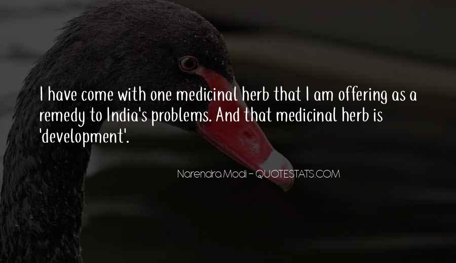 Quotes About Medicinal Herbs #142888