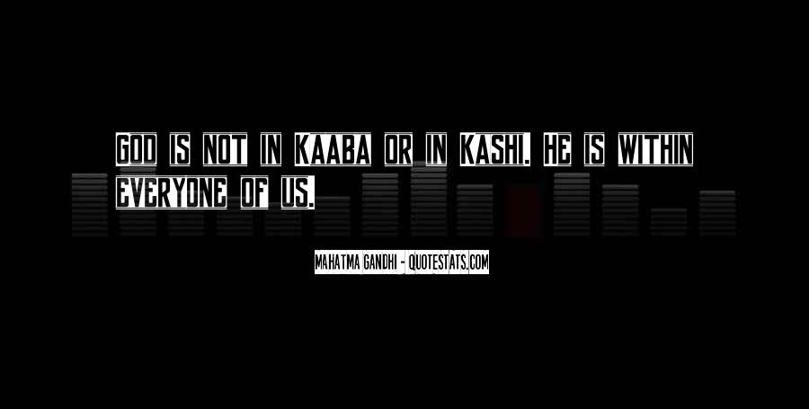 Quotes About Kaaba #602037