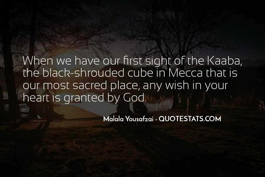 Quotes About Kaaba #902917