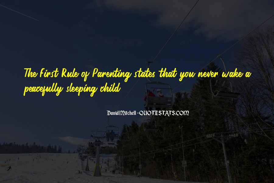 Quotes About Sleeping Peacefully #1098682