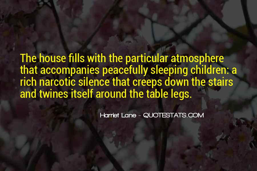 Quotes About Sleeping Peacefully #1564926