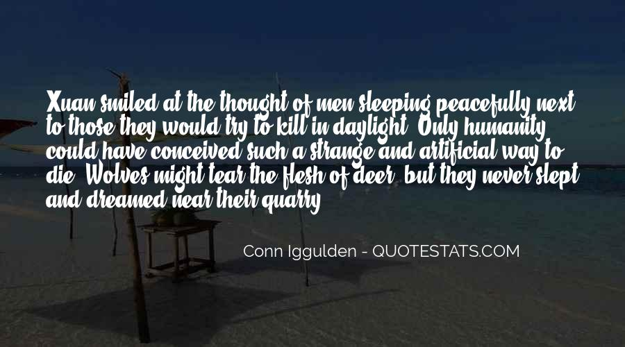 Quotes About Sleeping Peacefully #380087