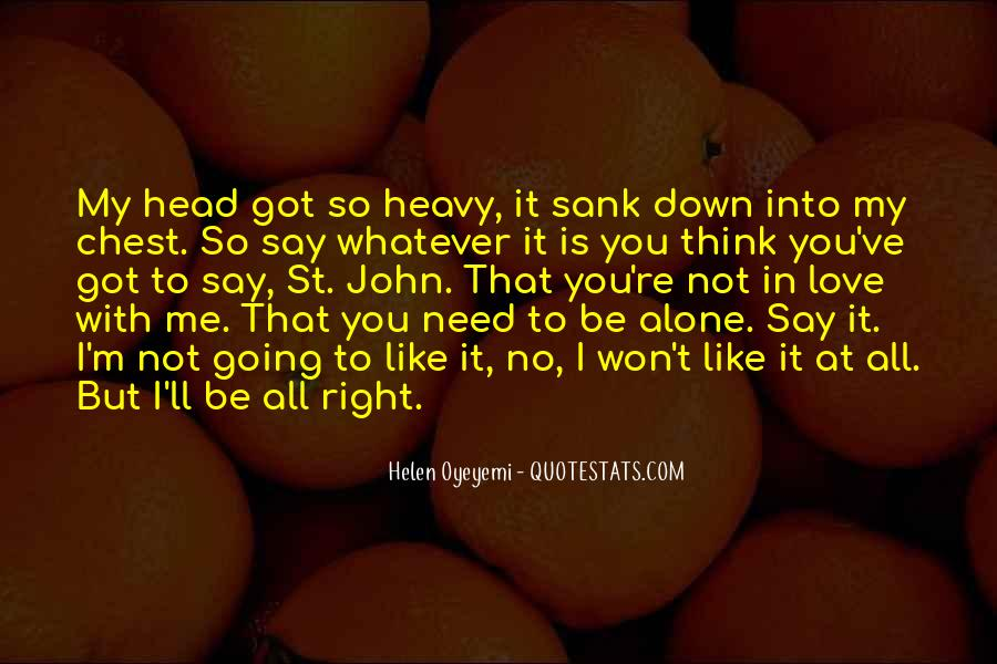 Quotes About Heavy Head #1624067