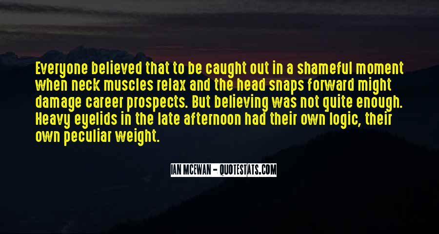 Quotes About Heavy Head #1803847