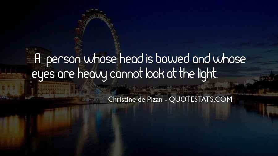 Quotes About Heavy Head #406184