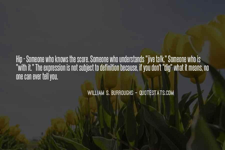 Quotes About No One Understands You #1772970