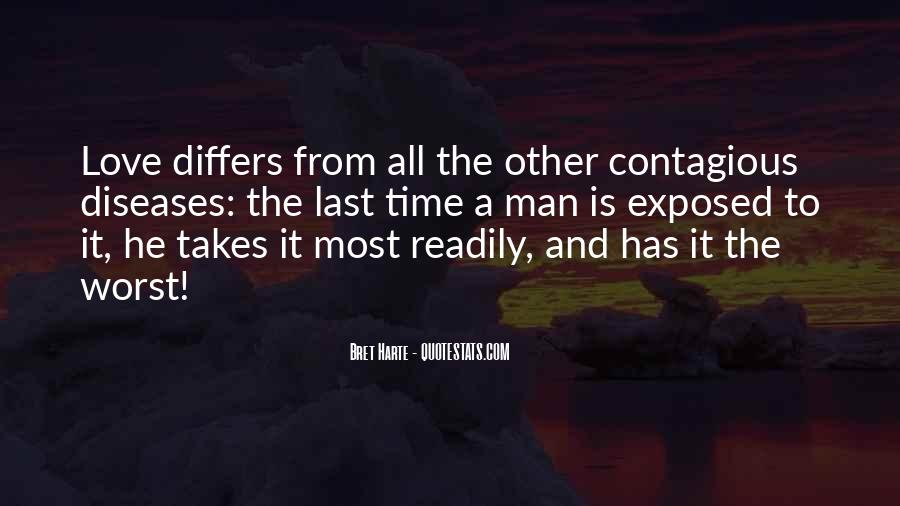 Quotes About Contagious Disease #1174349
