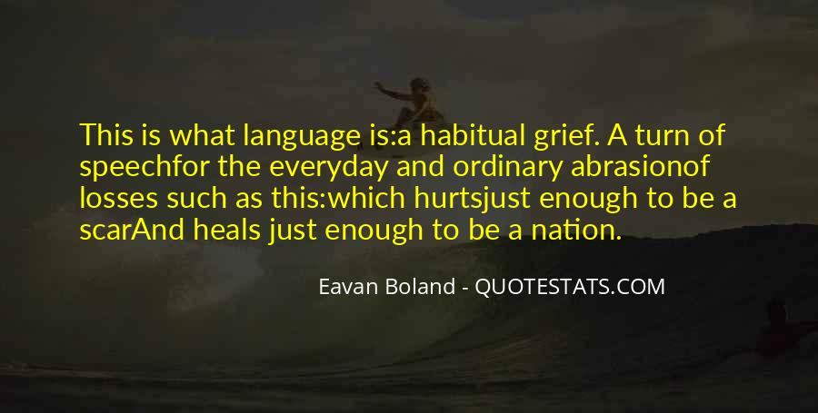 Quotes About Speech And Language #1154881