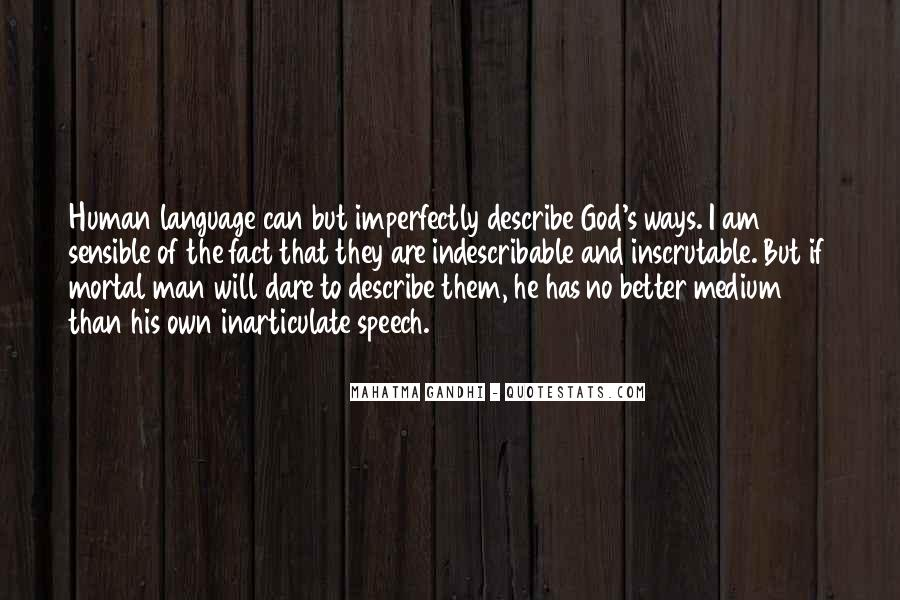 Quotes About Speech And Language #1156608