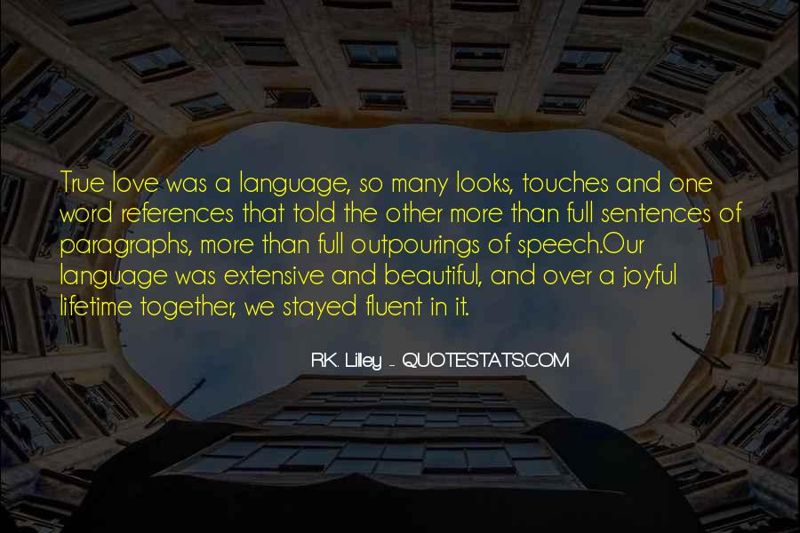 Quotes About Speech And Language #123011