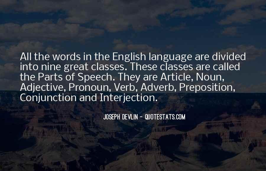 Quotes About Speech And Language #127170