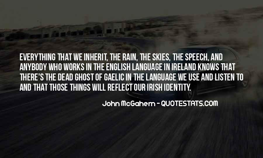 Quotes About Speech And Language #1552092