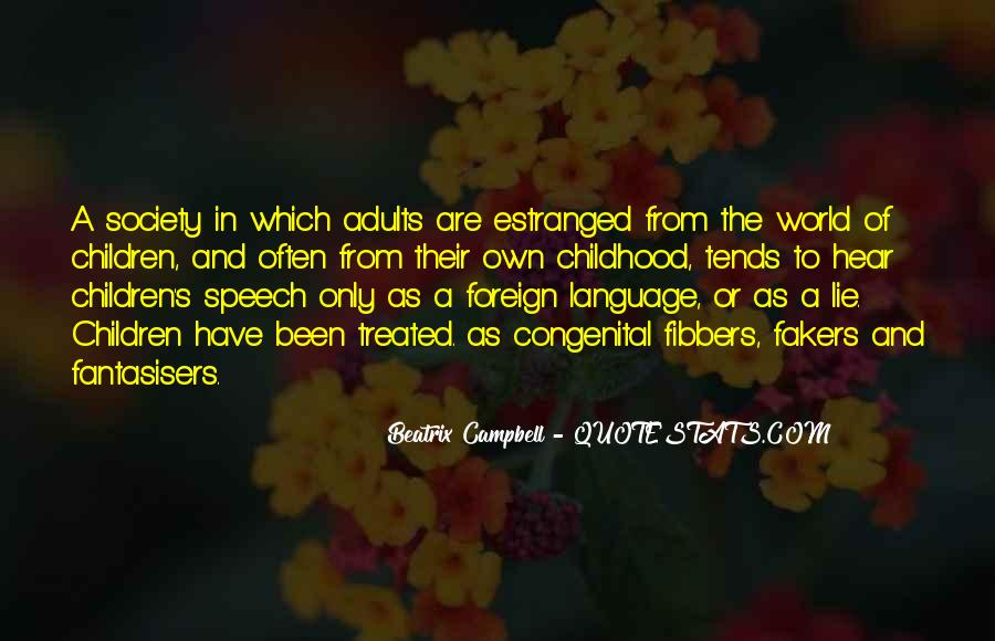 Quotes About Speech And Language #1573869