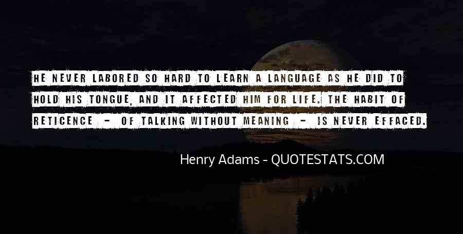Quotes About Speech And Language #16604
