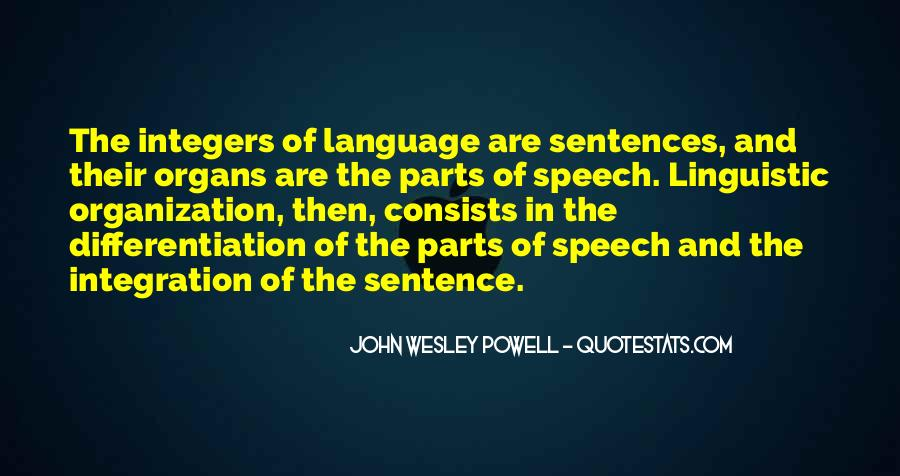Quotes About Speech And Language #166527
