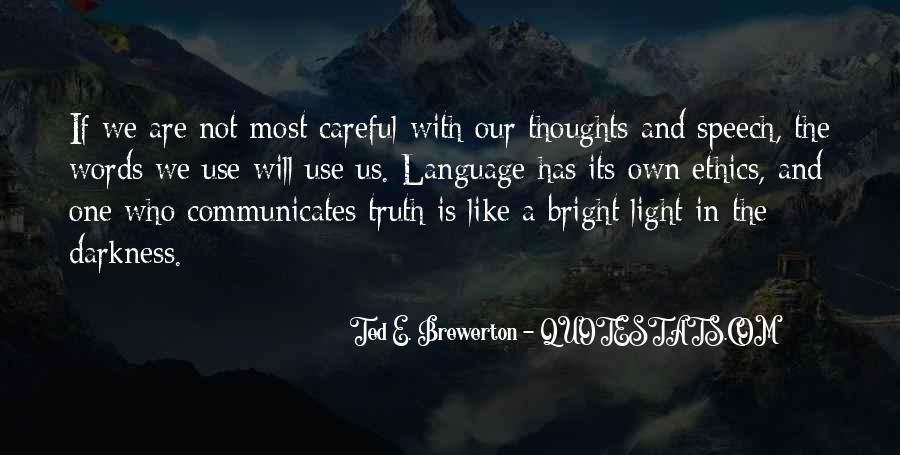 Quotes About Speech And Language #1845538