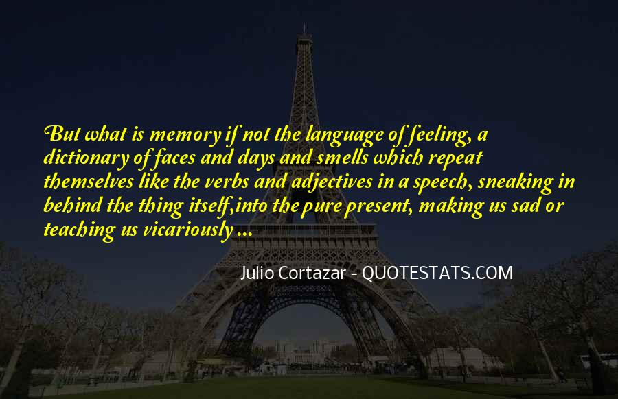 Quotes About Speech And Language #381233