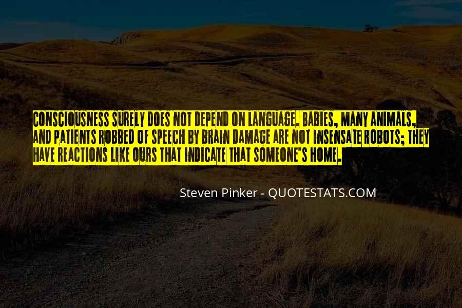 Quotes About Speech And Language #450373