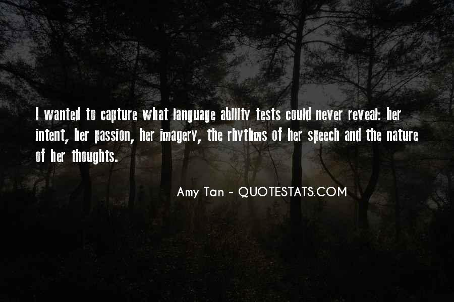 Quotes About Speech And Language #531546