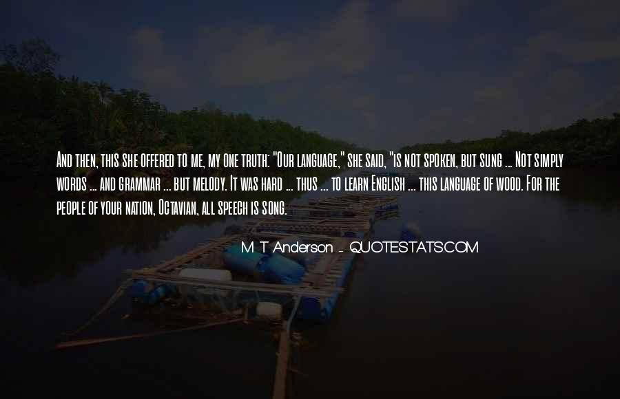Quotes About Speech And Language #644836