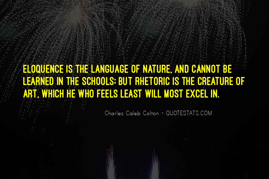 Quotes About Speech And Language #668405