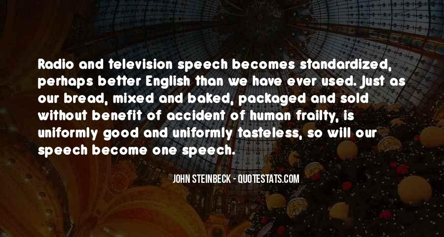 Quotes About Speech And Language #83716