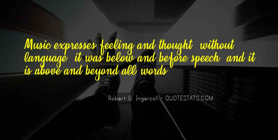 Quotes About Speech And Language #918603