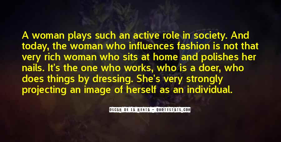Quotes About Rich Woman #1011360