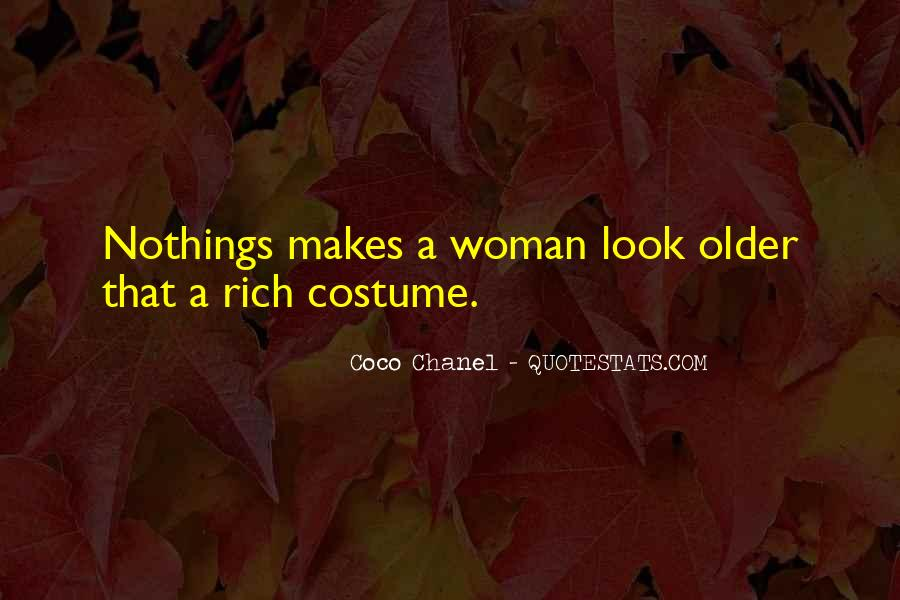 Quotes About Rich Woman #103776
