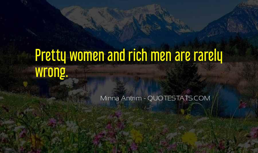 Quotes About Rich Woman #1254122