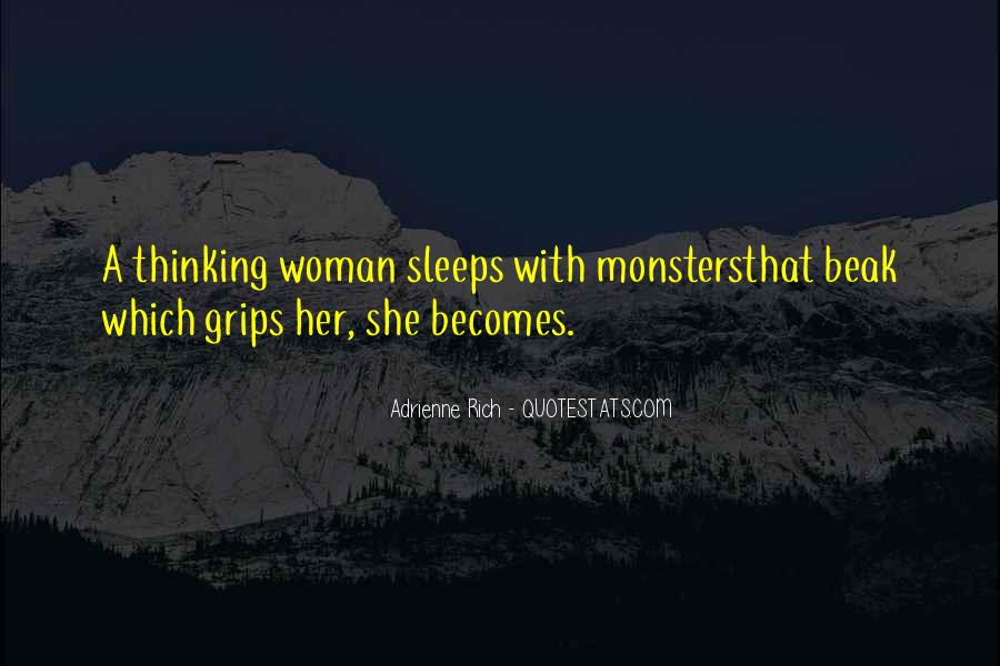 Quotes About Rich Woman #1401422