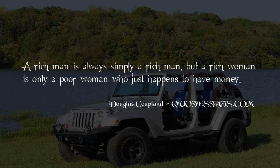 Quotes About Rich Woman #1612165