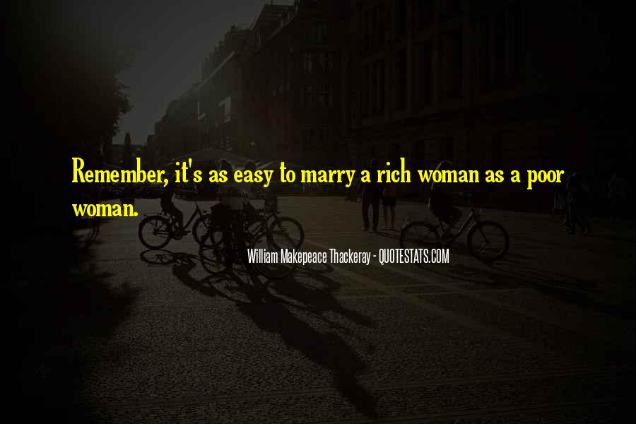 Quotes About Rich Woman #1679372
