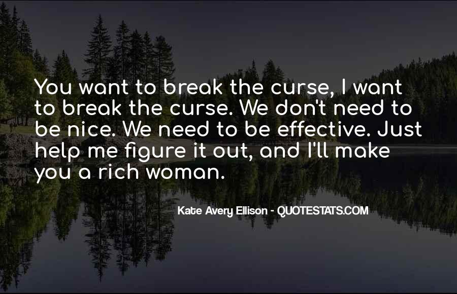Quotes About Rich Woman #1836499