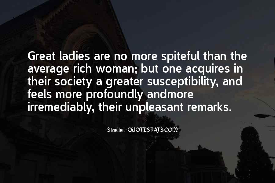Quotes About Rich Woman #666243