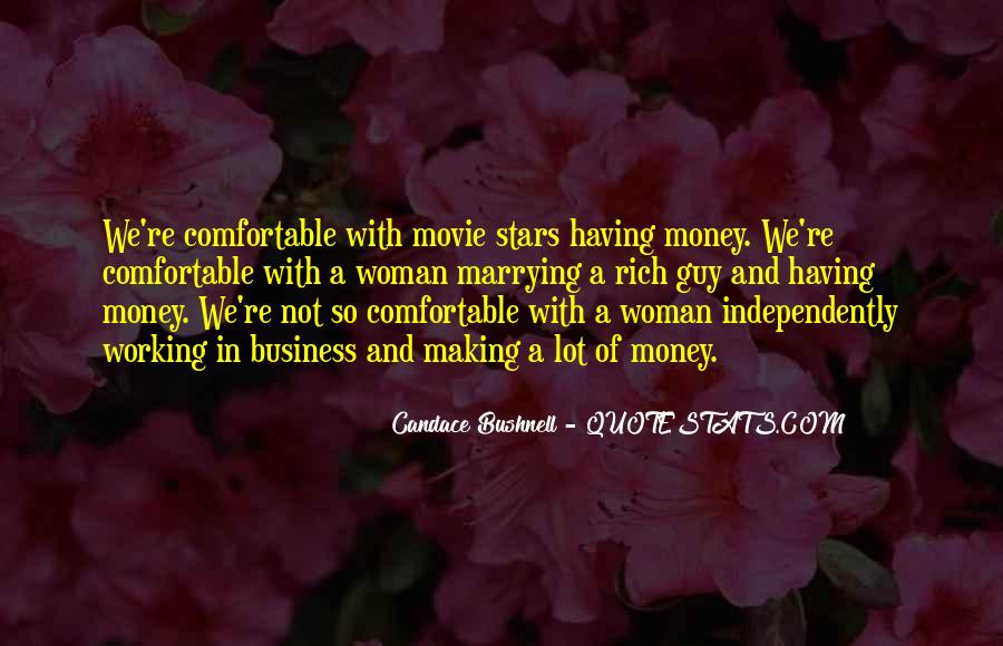 Quotes About Rich Woman #691928