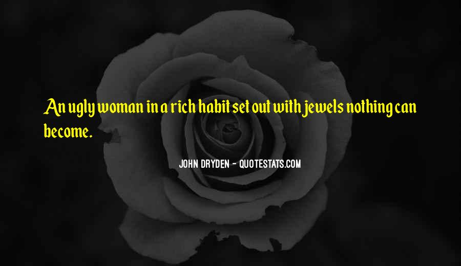 Quotes About Rich Woman #715374