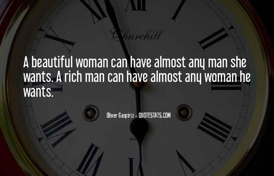 Quotes About Rich Woman #910459