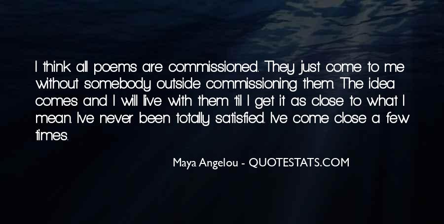 Quotes About Commissioning #695786