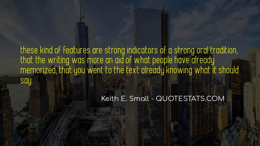 Quotes About Indicators #1412265