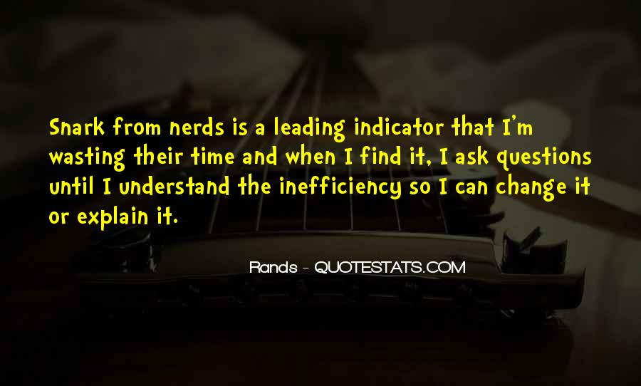 Quotes About Indicators #146573