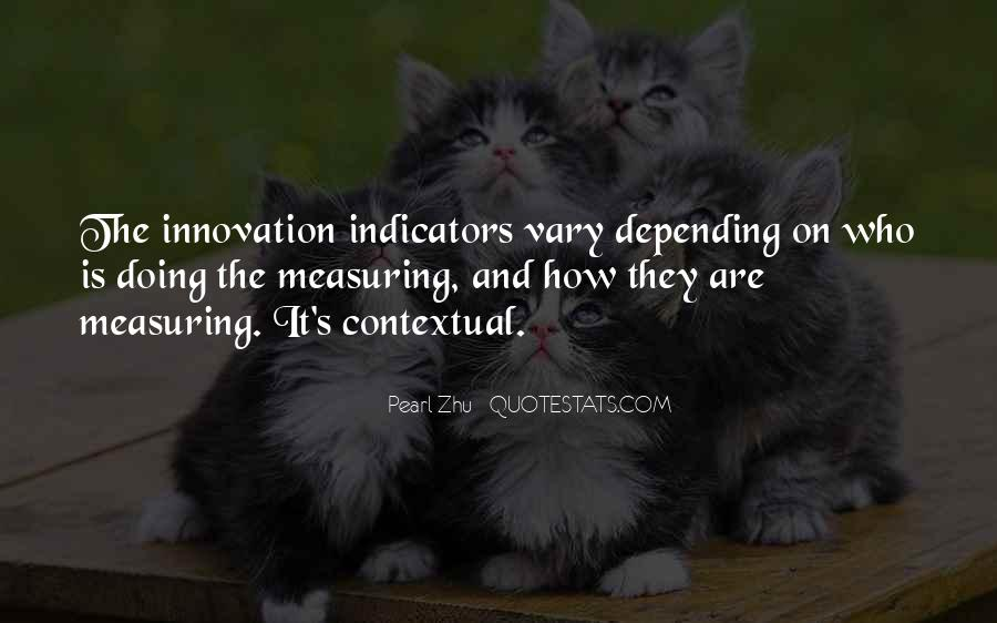 Quotes About Indicators #493810