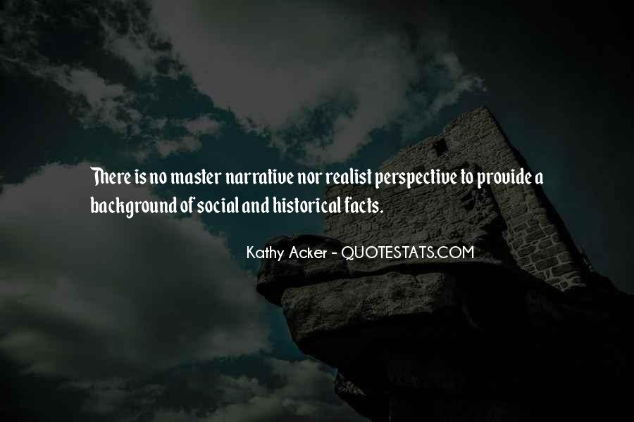 Quotes About Narrative Perspective #866236