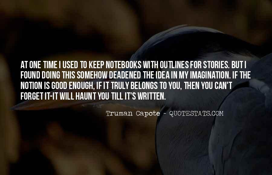 Quotes About Outlines #1279317